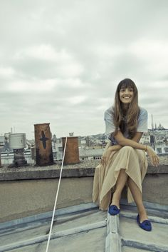 Easy, effortless and comfy on the roofs of Paris...  Merci Kenza! http://www.larevuedekenza.fr/2013/10/shoot-emile.html   http://www.mychatelles.com/26-tassels-honore.html