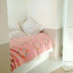 Bed shabby chic