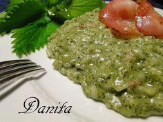 Le leccornie di Danita: Risotto alle ortiche e fontina