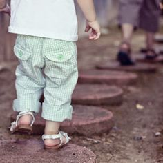 There is an old Indian proverb: Children tie the feet of their mother. And if you are a mom, you might know this to be true. So walk slowly, Mama.