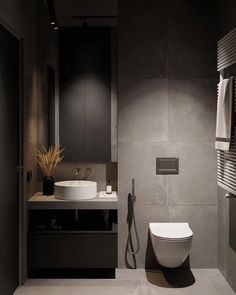 Ideas Small Bathroom Interior Minimal For 2020 Washroom Design, Bathroom Design Luxury, Bathroom Layout, Modern Bathroom Design, Bathroom Goals, Bedroom Modern, Design Wc, Home Design, Home Interior Design