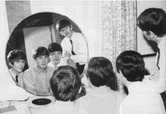 """Paul hair. THIS was considered Long LONG hair. They were called """"MOPTOPS"""". THey started (w/the help of Astrid Kirchherr of Germany) the whole hippy trend of long hair, Imagine that!"""