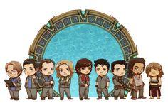 StarGate Atlantis cast by *JoannaJohnen