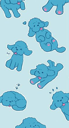 Yuri on Ice Katsuki Yuri's phone cover/case pattern Vicchan/Makkachin/Maccachan/Maccachin