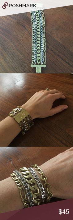Silpada bracelet Brass and sterling silver. Silpada Jewelry Bracelets