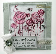 Suzz's Stamping Spot: CR84FN16 - Fields of Ranunculus