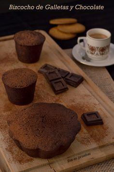 Bizcocho de galletas sin azúcar