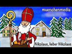Nikolaus, lieber Nikolaus - Nikolaus Lied   Weihnachtslieder deutsch   Kinderlieder - muenchenmedia - YouTube