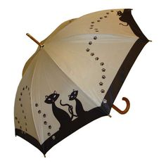Raindrops|Umbrellas:Adult Black Cats Umbrella and other apparel, accessories and trends. Browse and shop 8 related looks.