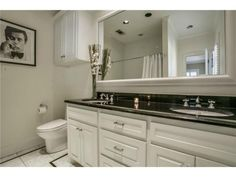 Updated take in a black and white bathroom