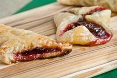 Add some seasonal summer fruit to your 4th of July: Mini Cherry-Almond Turnovers   Healthy. Delicious.