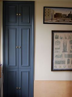 ideas for airing cupboard storage ideas fitted wardrobes Built In Wardrobe Doors, Alcove Wardrobe, Painted Wardrobe, Bedroom Wardrobe, Home Bedroom, Bedrooms, 1930s Bedroom, Wardrobe Ideas, Alcove Cupboards