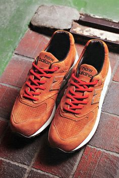 """Stussy x realmadHECTIC x Undefeated New Balance ML999 """"Selle Francais"""" Sneaker"""