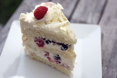 Hands down best cake ever. EVER. Berry Blossom from Susina Bakery and Cafe in LA.