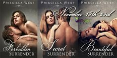 Surrender Series by Priscilla West. These have really good reviews. Looks like I found my next series.