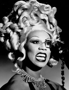 """""""my goal is to always come from a place of love ...but sometimes you just have to break it down for a motherfucker"""" - ru paul forever <3"""