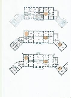 Floorplan of the three main levels of Frederik the VIII's palace (home to the Danish crownprince couple) These plans are from 2005 when the restauration were still being planned - it has been hinted that the top floor housing the bedrooms was modified slightly before completion due to the arrival of the twins.