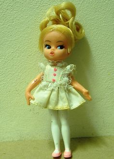 vintage Dolly Darling Sweet Heart Doll by OldFleaCraftMarket
