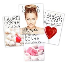 Books by Lauren Conrad - L. Candy, Sweet Little Lies, Sugar and Spice Style ♡ Lauren Conrad Books, Good Books, My Books, Amazing Books, Love Lauren, Reading Rainbow, Reality Tv Shows, Life Savers, Sugar And Spice