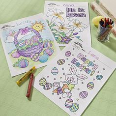 Free-N-Fun Easter Coloring Pages    Brighten up your Easter with these fun and free printable Easter coloring pages. Feel free to print out as many as you want to ensure all your little ones have a fun Easter memento they can proudly display. Hand them out on their own or pair them with coloring supplies for a colorfully creative candy alternative, perfect for Easter baskets!