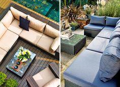 Lounge-Möbel für den Garten