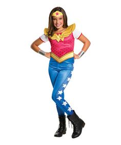 Look what I found on #zulily! Wonder Woman Dress-Up Set - Girls #zulilyfinds