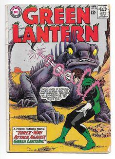 Vintage Green Lantern Comic book Pub. DC National by GrrlPickers