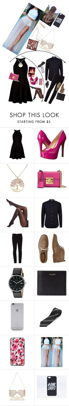 """""""Parents evening"""" by directioner2345 ❤ liked on Polyvore featuring New Look, Younique, Jessica Simpson, AeraVida, Gucci, SPANX, Burberry, Hush Puppies, Skagen and Yves Saint Laurent"""