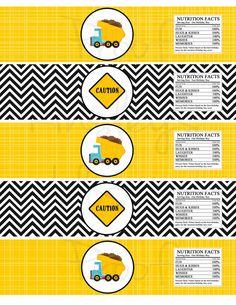 Etiquetas de botella de agua de fiesta por KinsleysKloset en Etsy