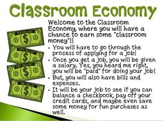 Teaching the value of money to students is invaluable later in life. This upper elementary activity for creating a classroom economy does that!