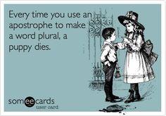 I am a grammar nerd.