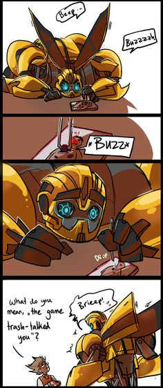 Don't worry Bee, you don't have to listen to the game anymore!