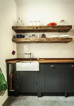 British Standard kitchen Designed by Compass & Rose