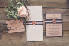 vintage travel stationery // photo by Jessica Christie Photography // design by Vintage Invites