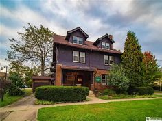 517 Spring St, Jamestown, NY 14701 | MLS #R1367539 | Zillow Jamestown Ny, Historical Architecture, Mansions, House Styles, Old Houses, Brick, Spring, Home Decor, Decoration Home