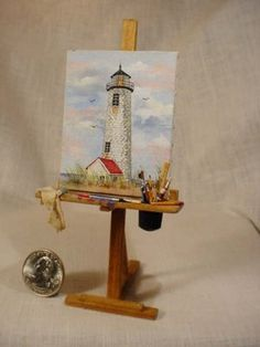Dollhouse Minis: Art Studio Minis by Marquis Miniatures