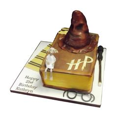<b>Harry Potter Birthday Cake</b><br />With an edible sorting…