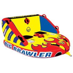 Overton's : Gladiator 2-Rider Big Brawler - Watersports > Towables & Tubes > 2-Person Towables : Water Tubes, Wild Towables, Mild Tubes, Inflatable Water Towables, Ski Towables
