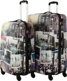 Travel memories! Stylisches Kofferset