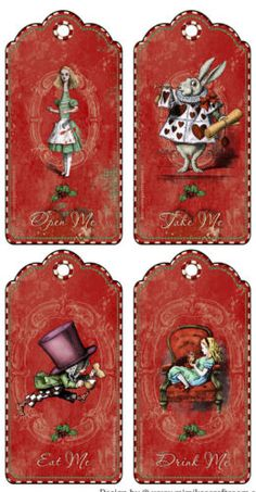 Cinco De Mayo Discover Alice in Wonderland Christmas eat me drink me take me open me party tags Alice In Wonderland Decorations, Alice And Wonderland Quotes, Alice In Wonderland Tea Party, Alice In Wonderland Printables, Pop Art Disney, Pins Vintage, Vintage Art, Eat Me Drink Me, Diy And Crafts