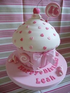 N_Big Cupcake Ideas | Giant Birthday Cupcake Giant Birthday Cupcake