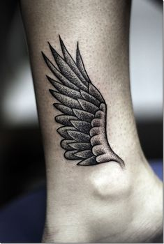 Wing Ankle Tattoo - 35 Breathtaking Wings Tattoo Designs Am Knöchel -> Hermes! Ankle Tattoo Men, Wing Tattoo Men, Ankle Tattoo Designs, Tattoo Motive, Cute Tattoos, Beautiful Tattoos, Leg Tattoos, Body Art Tattoos, Tattoos For Guys