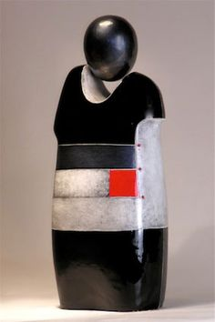 Gallery of abstract figurative ceramic & metal sculpture figures by Mary-Ann Prack - Contemporary expressionist sculptor from western North Carolina 3d Wall Art, Wall Art Decor, Sculpture Art, Sculptures, Aboriginal Painting, Pottery Designs, Street Art Graffiti, Land Art, Ceramic Artists