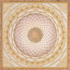 Gold Wheel Mandala