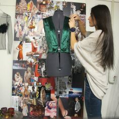 Sewing the Green Dress