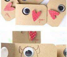 Inspiring image carta, creatividad, diy, love, monstruo, cartita #3615322 by…
