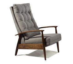 Todays version of Mid Century Mod - cant get enough - great lines - luv it -10-848 VICE RECLINING CHAIR