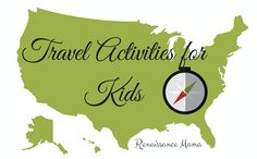 Traveling Activities for Kids By: Sarah Falk-Extended road trips are a fabulous way to introduce our kids to a myriad of fascinating places, scattered across the US, but how, oh how, do we keep them occupied during the long boring stretches of highway?   http://www.theoldschoolhouse.com/traveling-activities-for-kids/