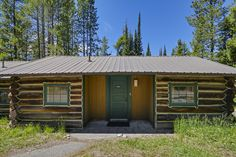 Colter Bay Village Log Cabins in Grand Teton National Park, Wyoming - Jackson Hole Vacation - Vacation Ideas - Cabin Rentals - Family Vacation