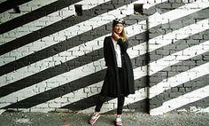 Birgit Veskiväli - H&M Coat, H&M Top, Bershka Trousers, Nike Sneakers, River Island Sunglasses - Urban Vibes